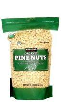 Kirkland Signature 100% Organic USDA Pine Nuts Resealable, 1 Bags, 1.5 Pounds.