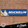 MICHELIN TYRES Banner Garage Workshop Sign Printed PVC Trackside Display