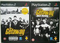 THE GETAWAY & THE GETAWAY BLACK MONDAY - BUNDLE - PS2 Sony PlayStation 2