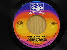 Johnny Adams - Release Me/You Make A New Man Out Of Me 45 - VG++