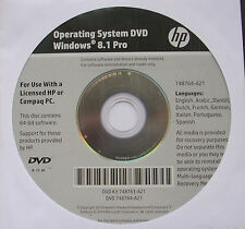 Windows 8.1 Professional 64 Bit Vollversion OEM-DVD plus Key