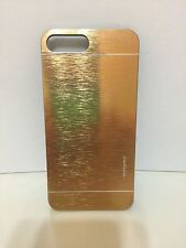 iPhone 7 Case  Metallic Case Fashion Hard Case Gold USA Seller