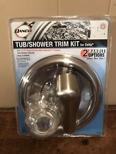 Danco 1-Handle Tub Shower Trim Kit for Delta Brushed Nickel Finish New