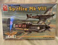 VINTAGE AMT SUPERMARINE SPITFIRE MK V111 1/48 SCALE 8881 MODEL KIT FACTORY SEAL