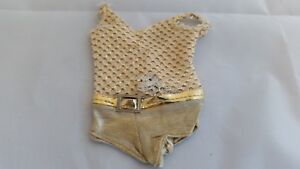 AWESOME Vintage Casey GOLD SWIMSUIT! A Must See!
