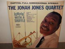 Jonah Jones Quartet . Jumpin' With A Shuffle . LP