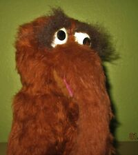 Vintage Large Snuffy Mr Snuffleupagus Stuffed Animal Sesame Street Knickerbocker
