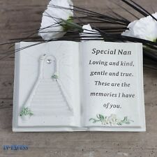 Special Nan Windchime Grave Memorial Remembrance Plaque Ornament DF15840C