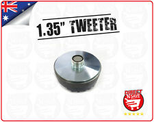 "Titanium Compression 1.35"" Screw-On Horn Driver Tweeter 8.5cm Diameter Gold"
