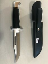 Buck Knives 119 Special Black Knife With Sheath