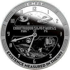T.I.M.E. Series #5 - E.M.I.T. 1 oz .999 Silver Proof-Like BU Round USA Made Coin
