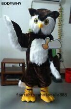 Easter Brown Owl Mascot Costume Cosplay Fancy Dress Party Carnival Advertising
