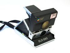 Gorgeous Customized Polaroid 680 SLR camera w/ strap - fully tested