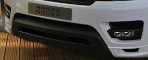 Land Rover OEM Range Rover Sport L494 2014-17 Stealth Pack Black Bumper Trim Kit