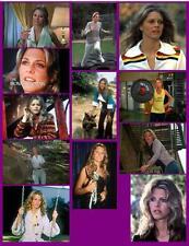 BIONIC WOMAN  (set 1 of 2)  12 PHOTO FRIDGE MAGNETS