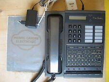 TELEFONO FISSO, CENTRALINO TELEFONICO 2 LINEE, SUPREME PIERRE CARDIN  ELECTRONIC