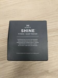 Misfit SHINE Fitness And Sleep Tracker With Swarovski Crystals IN BOX WHITE