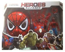AVENGERS Spider-Man Maske leuchten Handschuh - schießt schießt Scheiben Figuren