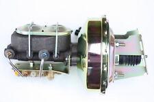 "Impala Bel Air Biscayne 9"" Zinc Power Brake Booster Bottom Disc/Disc 3E183"