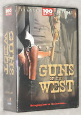 Guns of the West 100 Western Cowboy Movies DVD Box Set John Wayne Roy Rogers