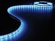 GUIRLANDE FLEXIBLE ETANCHE 300 LED BLEU 5M + ALIMENTATION 12VDC OU 220VAC