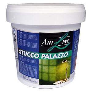(10€/kg) 5 kg Stucco Palazzo Spachteltechnik ORANGE Spachtel Wandfarbe