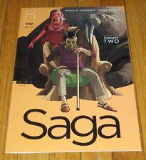 Saga #22 1st Print Brian K Vaughan Fiona Staples Image Comics