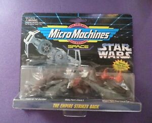 Micro Machines Star Wars 1994 THE EMPIRE STRIKES BACK.