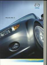 MAZDA MX-5 SOFT TOP AND ROADSTER COUPE SALES BROCHURE 2007 2008