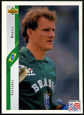Taffarel, Brasil #49 World Cup USA '94, (Eng/Ger) Card  (C385)