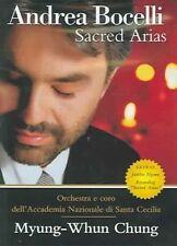 Andrea Bocelli Sacred Arias - DVD Fast And Free From Melb