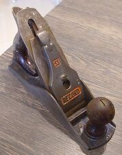 Record No.04 SS stay set plane woodworking old tools vintage collectable