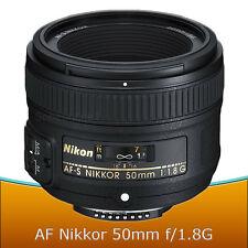 Nikon 50mm f/1.8G AF-S Nikkor Lens for Nikon D7200 D7100 D5500 D5300 D3400 D3300