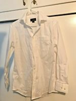 David Taylor Collection Long Sleeve Dress Shirt Button Down White Mens Size 14.5