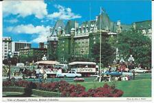 Postcard - Victoria, BC - Inner City - Unposted (1960s)