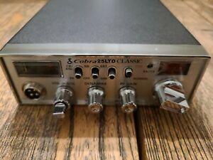 Cobra 25 LTD Classic CB Radio With Green LED Setup skip talker
