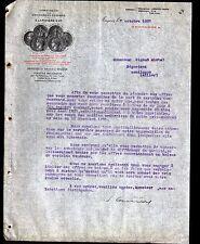 "ANGERS (49) ARDOISIERES / ARDOISES DALLES ""G. LARIVIERE"" en 1907"