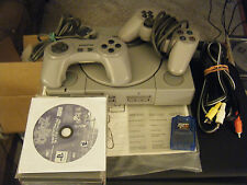 Sony PlayStation Gray Console (SCPH-1001) w/7 Games Bundled