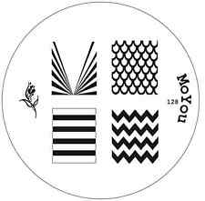 MoYou Nails Image Plate 128 Nail Art Stamping Template  Manicure Stencil Plates