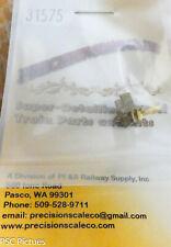 Precision Scale HO #31575 Coupler Pocket (Brass Casting)