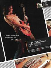 High on Fire Matt Pike Custom 9-string First Act Lola guitar 2008 ad 8x11 print