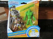 Imaginext DC Super Friends Fisher Price Batman Swamp Thing green plant dude NEW