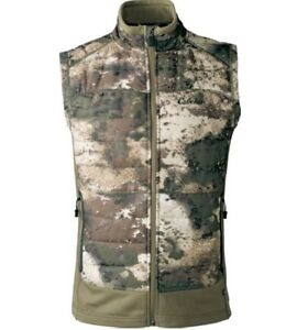 Cabela's INSTINCT Men's Hybrid Puff PrimaLoft 100g Hunting Vest O2 Octane Camo