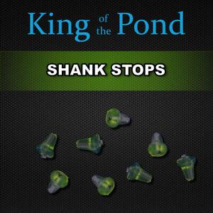 x2 packets Trans- Green shank stops x20 - carp fishing