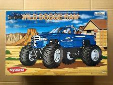 VINTAGE #31751 KYOSHO Wild Dodge Ram 1/10 Scale Nitro Monster Truck