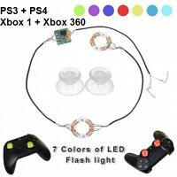 PS4 LED Thumbsticks Set für alle Playstation & XBOX Controller Farbwechsel