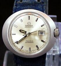 GORGEOUS LADY VINTAGE 1970 OMEGA AUTOMATIC DATE GENEVE DYNAMIC WATCH SERVICE 681