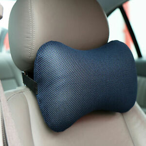 Car Seat Headrest Travel Pillow Memory Foam Neck Support Cushion Flight Plane UK