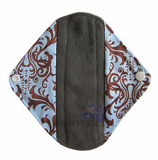 Cloth Menstrual Pads Bamboo Charcol Reusable Sanitary Liner Elegant Light