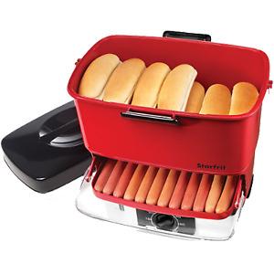 Starfrit Electric Hot Dog Steamer 024730-002-0000